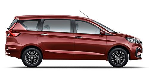 Car rental in Goa - Book Maruti Suzuki Ertiga – New for self drive