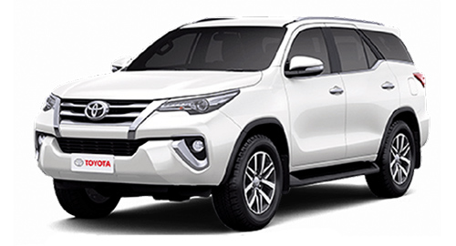 Car rental in Goa - Book Toyota Fortuner – New for self drive