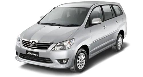 Car rental in Goa - Book Innova Taxi for self drive