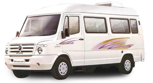 Car rental in Goa - Book Tempo Traveller – 12 Seater for self drive